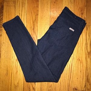 Hudson Nico Skinny French Terry Jeans